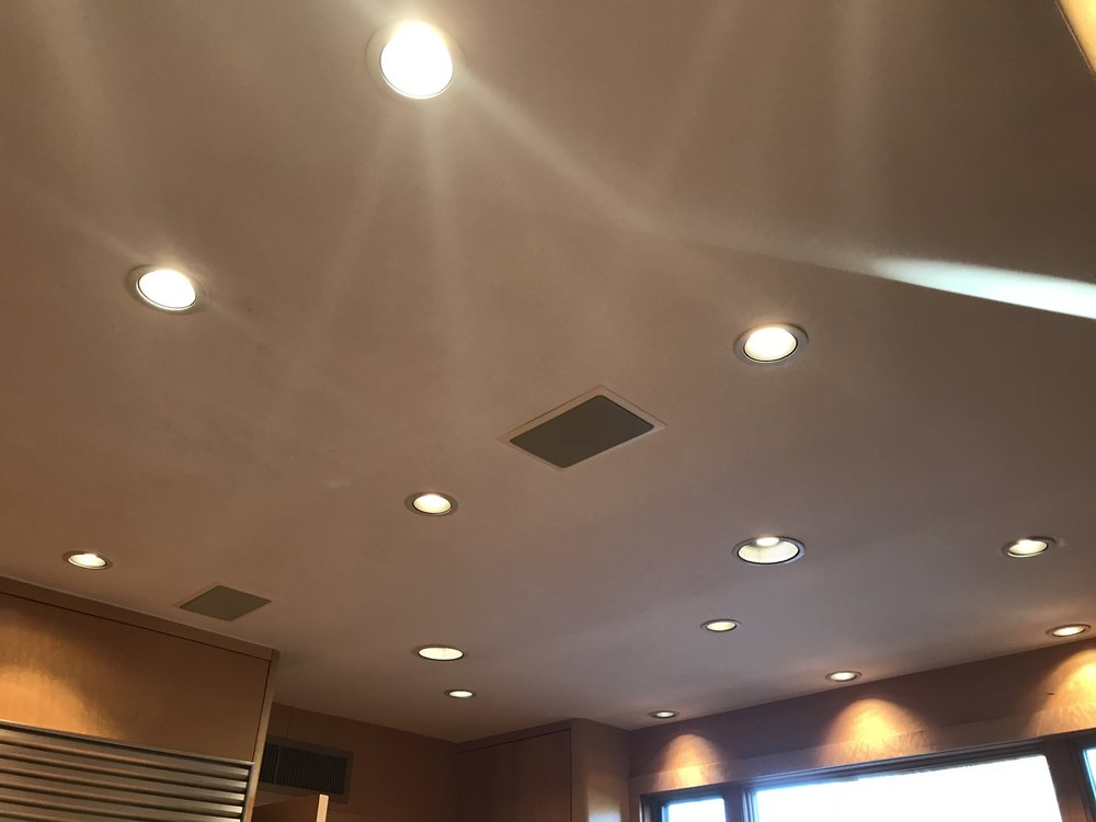 Swiss Cheese Ceiling and Lighting Problems, example 1