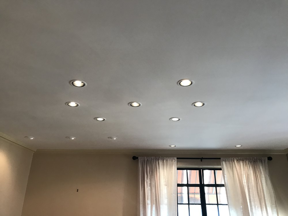 Swiss Cheese Ceiling & Lighting Problems Example 2