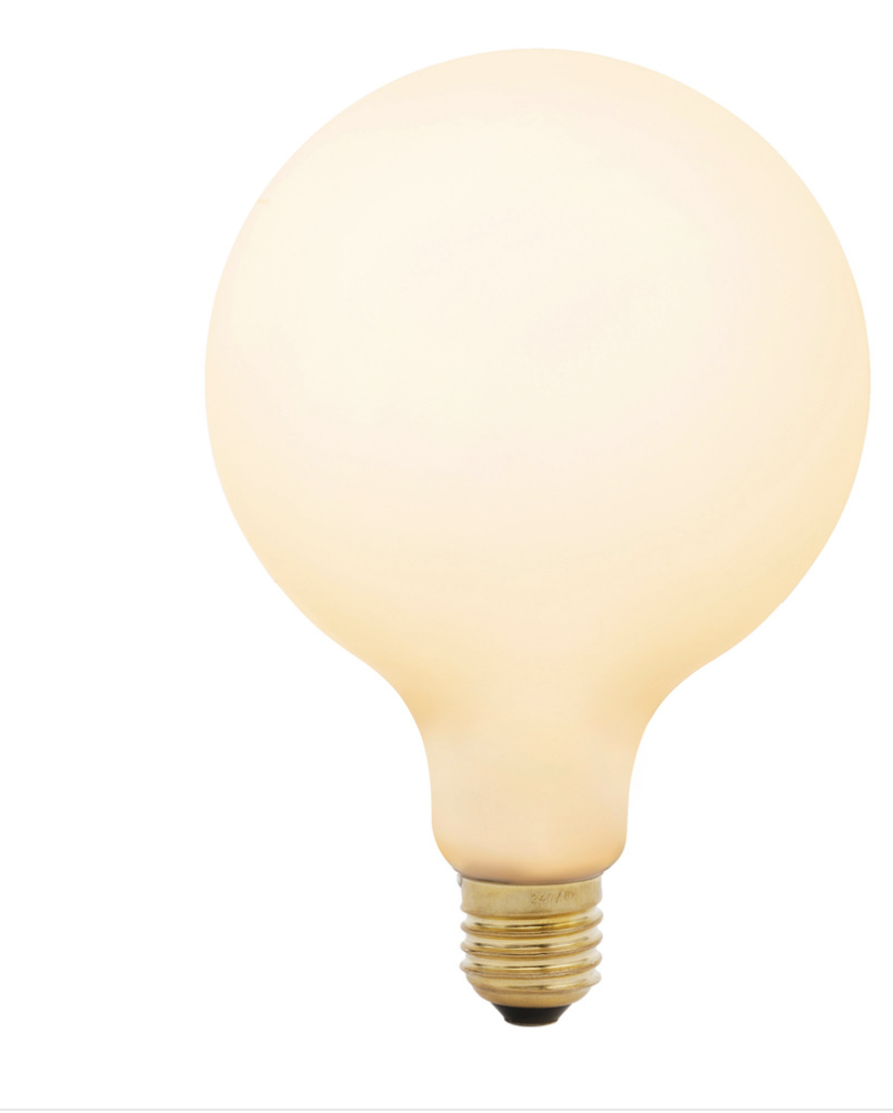 LED Tala Porcelain III Bulb from  Rejuvenation .