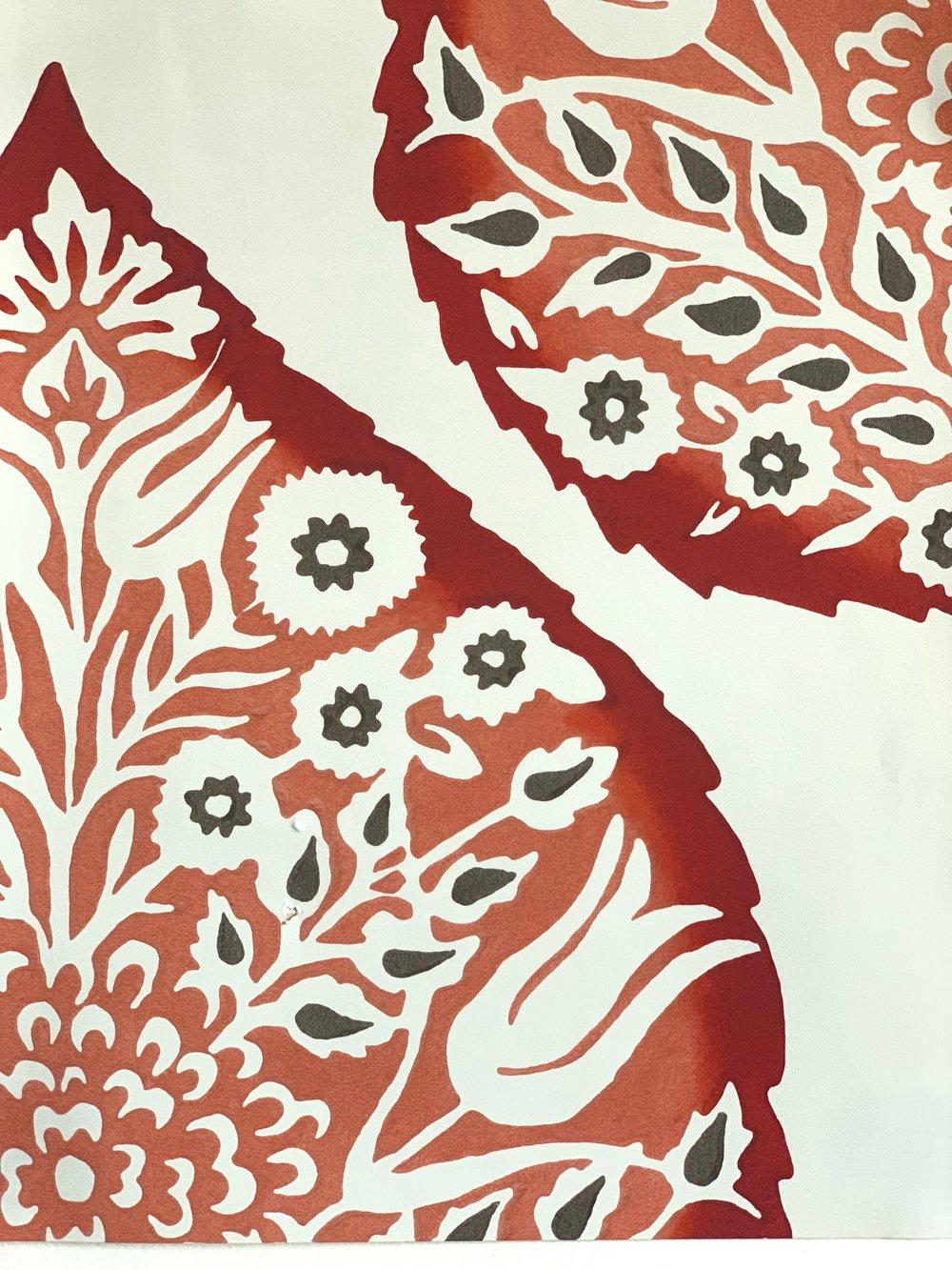 Galbraith & Paul Lotus in Crimson