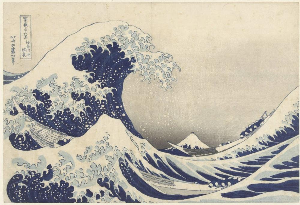 "Hokusai ""The Great Wave off Kanagawa"""