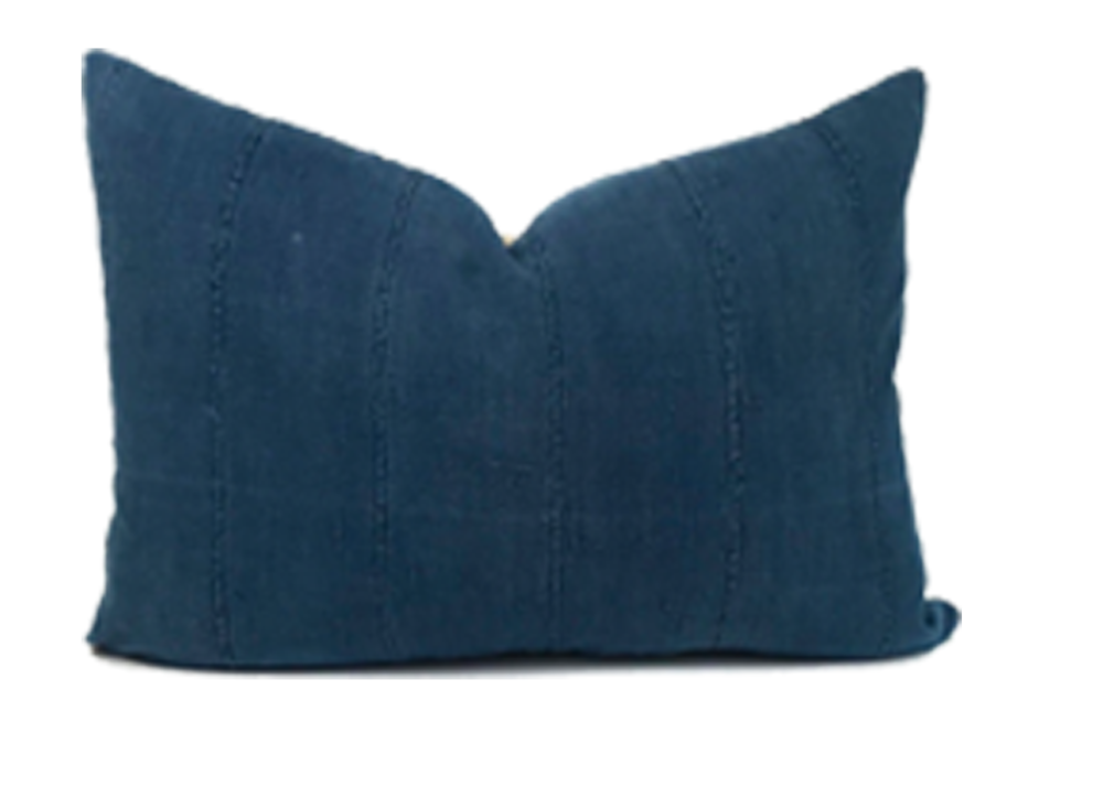 African Indigo Pillow from  One Affirmation
