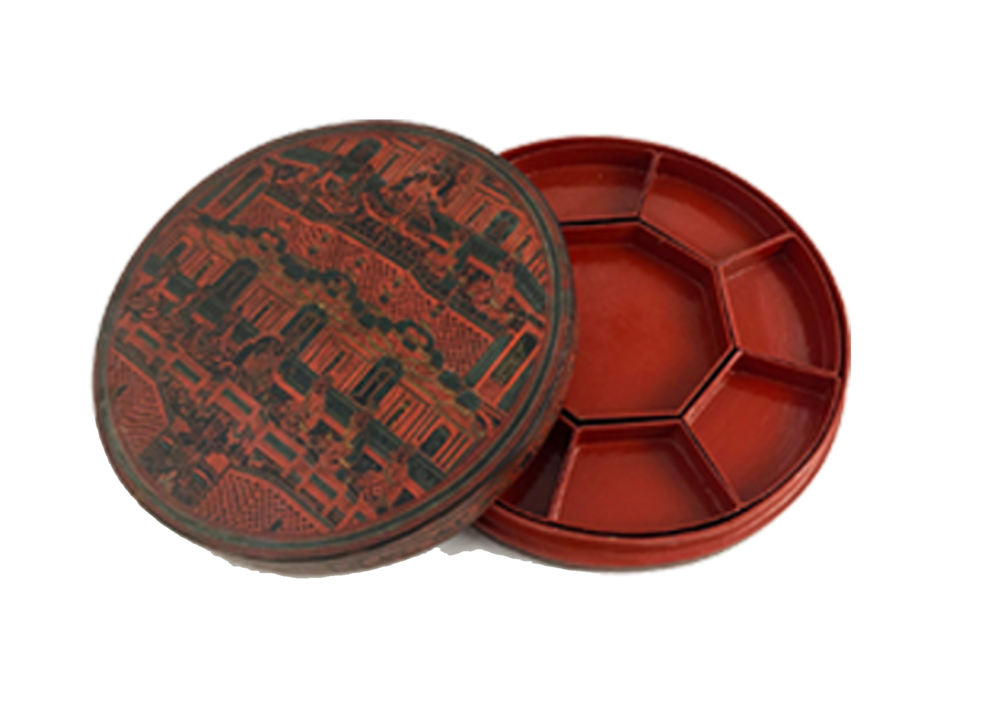 Antique Betel Box from Traveled Treasures