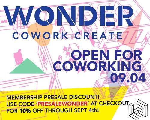 Wonder / Co-work / Create
