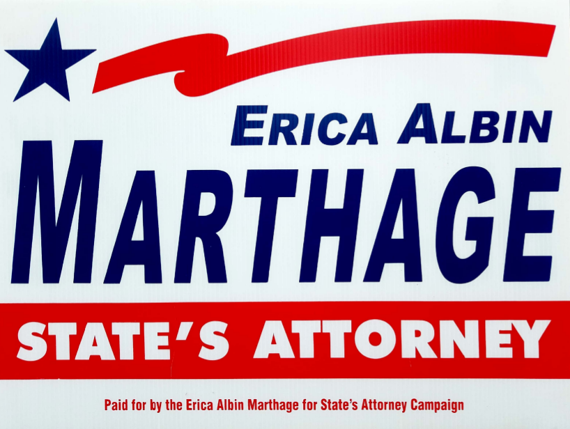 Erica Marthage for State's Attorney