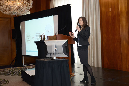 Dr. Kimberly Wintemute, Primary Care Co-Lead for Choosing Wisely Canada, presents at the Summit on Medication Safety