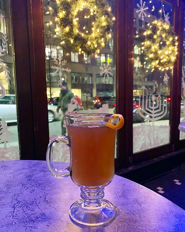 A Globe Hot Toddy 🌎