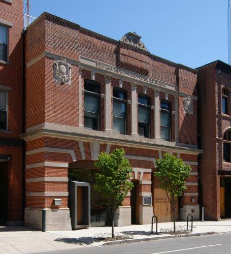 Fire Station #12, 45-47 Crown Street, 1905.
