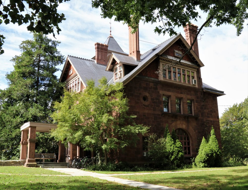 Othniel C. Marsh House, 360 Prospect Street. Architect: J. Cleaveland Cady, 1875-80.