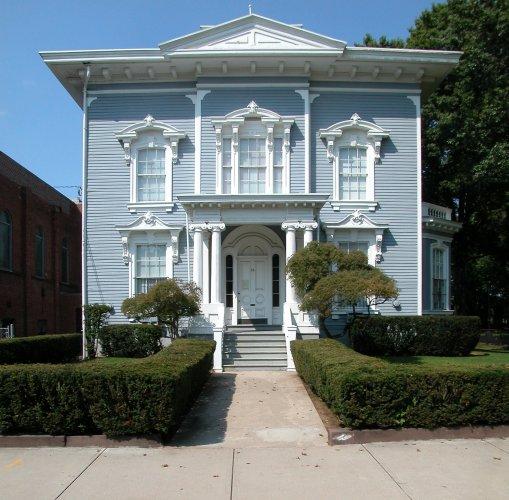 Seth Merwin House, 56 Dwight Street, c. 1854.