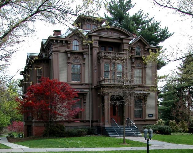 Graves-Dwight House, 51 Hillhouse Avenue, c. 1862.