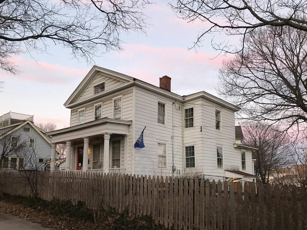Eber Kelsey House, 19 Howard Avenue, c. 1850.