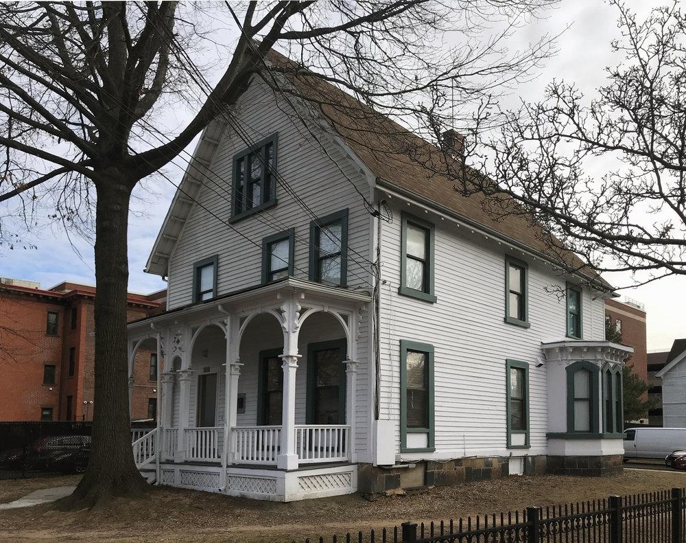 Frank E. Craig House, 122 Davenport Avenue, c. 1870.
