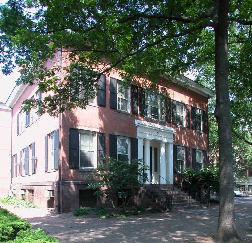 Ralph Ingersole House, 143 Elm Street. Architect: Town & Davis, 1829.