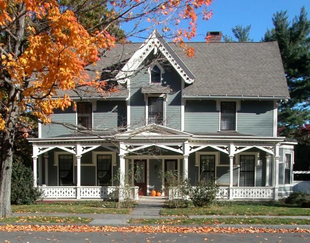 Gothic Revival Cottage, 7-9 Edgehill Road, c. 1850s.