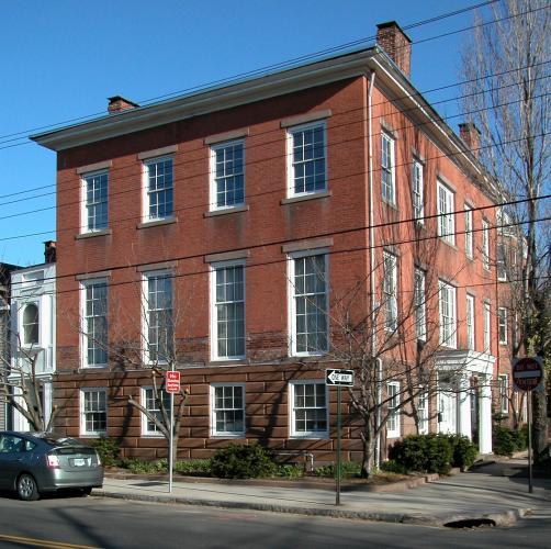 Lucius Hotchkiss House, 2 Academy Street, c. 1835.