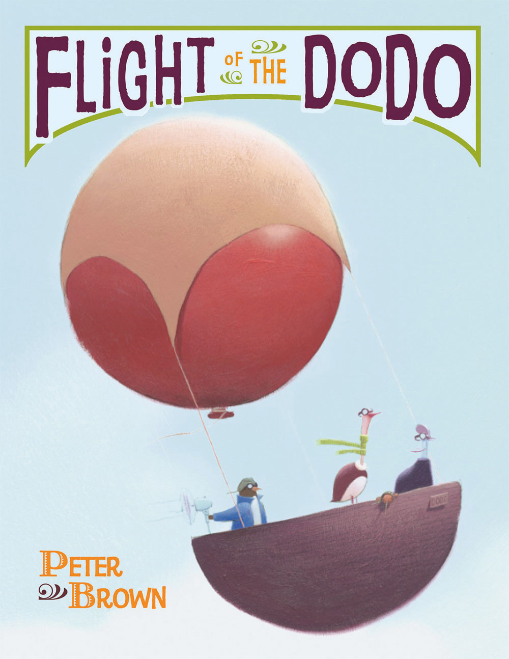 Brown, Peter 2005_10 - FLIGHT OF THE DODO - PB - RLM PR.jpg
