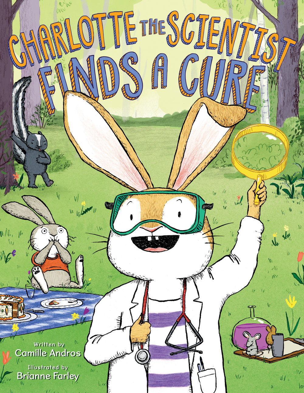 Farley, Brianne 2019_03 - CHARLOTTE THE SCIENTIST FINDS A CURE - PB - RLM PR.jpg
