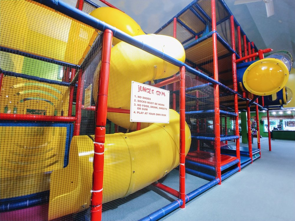 Your kids will love our indoor playground.You'll love our prices. -
