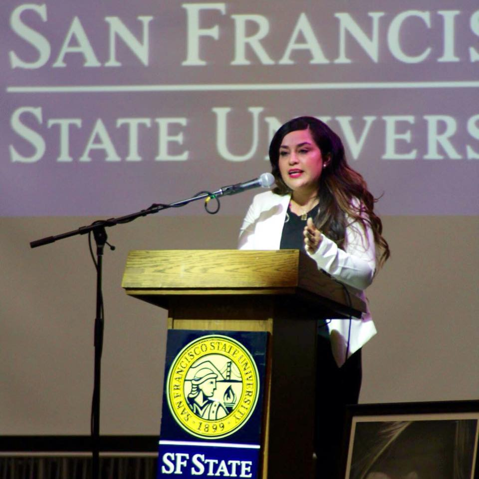 City College of San Francisco:  Associate in Science in Administration of Justice  San Francisco State University:  Bachelor of Arts in Latino/a Studies