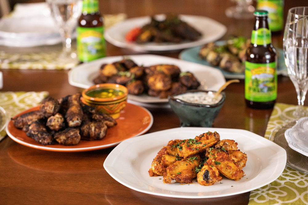 My Five Favorite Wings - Enjoy this collection of my five favorite wing recipes from around the world!