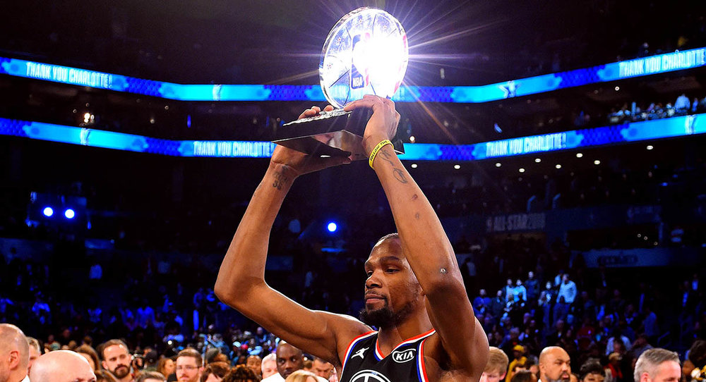 f2e94cc81e7 Breaking  Kevin Durant takes home Biggest Try-Hard honors at NBA All-Star