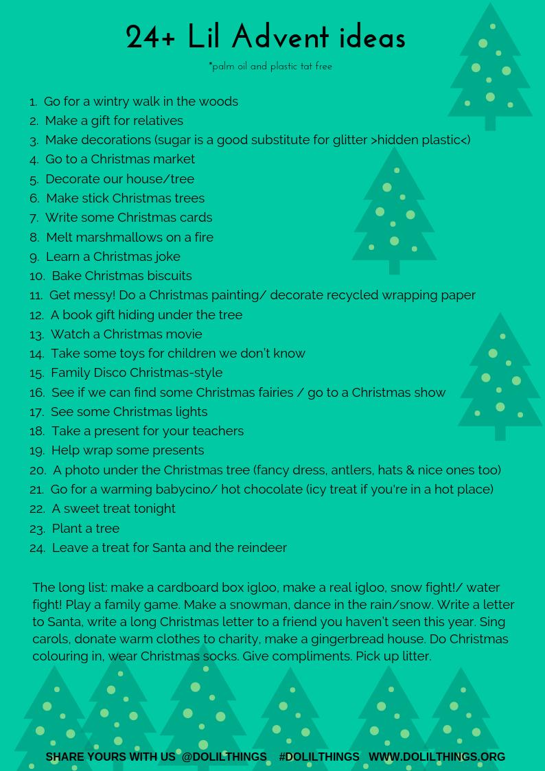 Christmas Letter Ideas.Advent Calendars