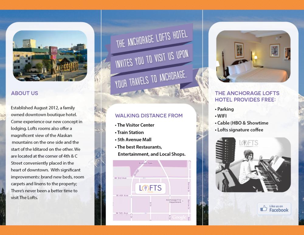 Brochures - The LOFTS Hotel