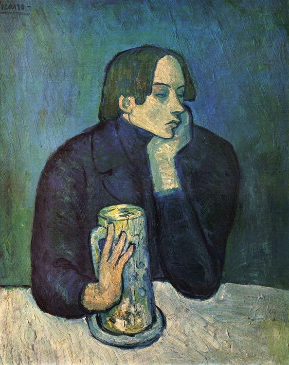 Pablo_Picasso,_1901-02,_Le_bock_(Portrait_de_Jaime_Sabartes),_The_Glass_of_Beer_(Portrait_of_the_Poet_Sabartes),_oil_on_canvas,_82_x_66_cm,_Pushkin_Museum,_Moscow.jpg