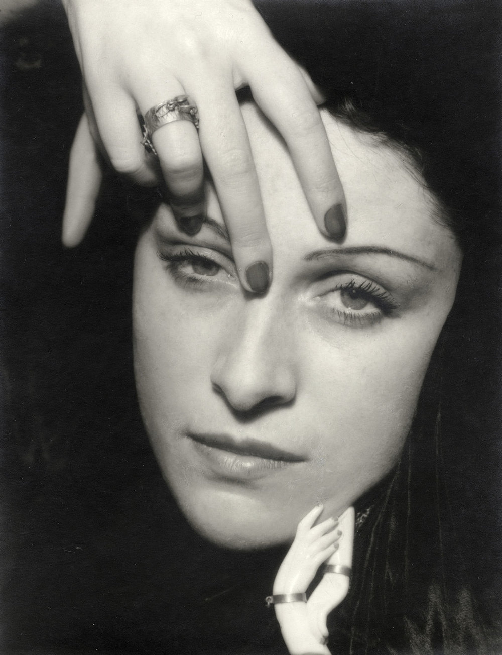 Dora Maar, photographed by Man Ray