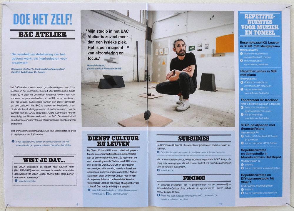 Leuven Cultural guide