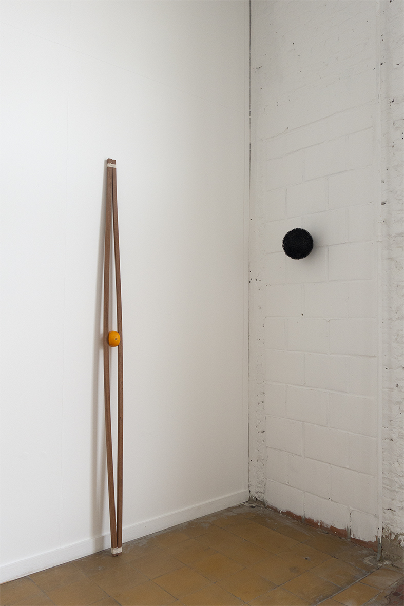"""""""SYZYGY"""", installation view, Leuven 2018."""
