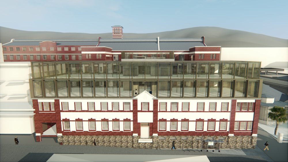 Workshop17 Kloof Street Render
