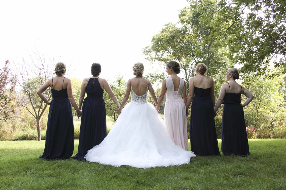 Fab! Weddings, Brant Hemingway, Minnesota weddings, bridal party pictures