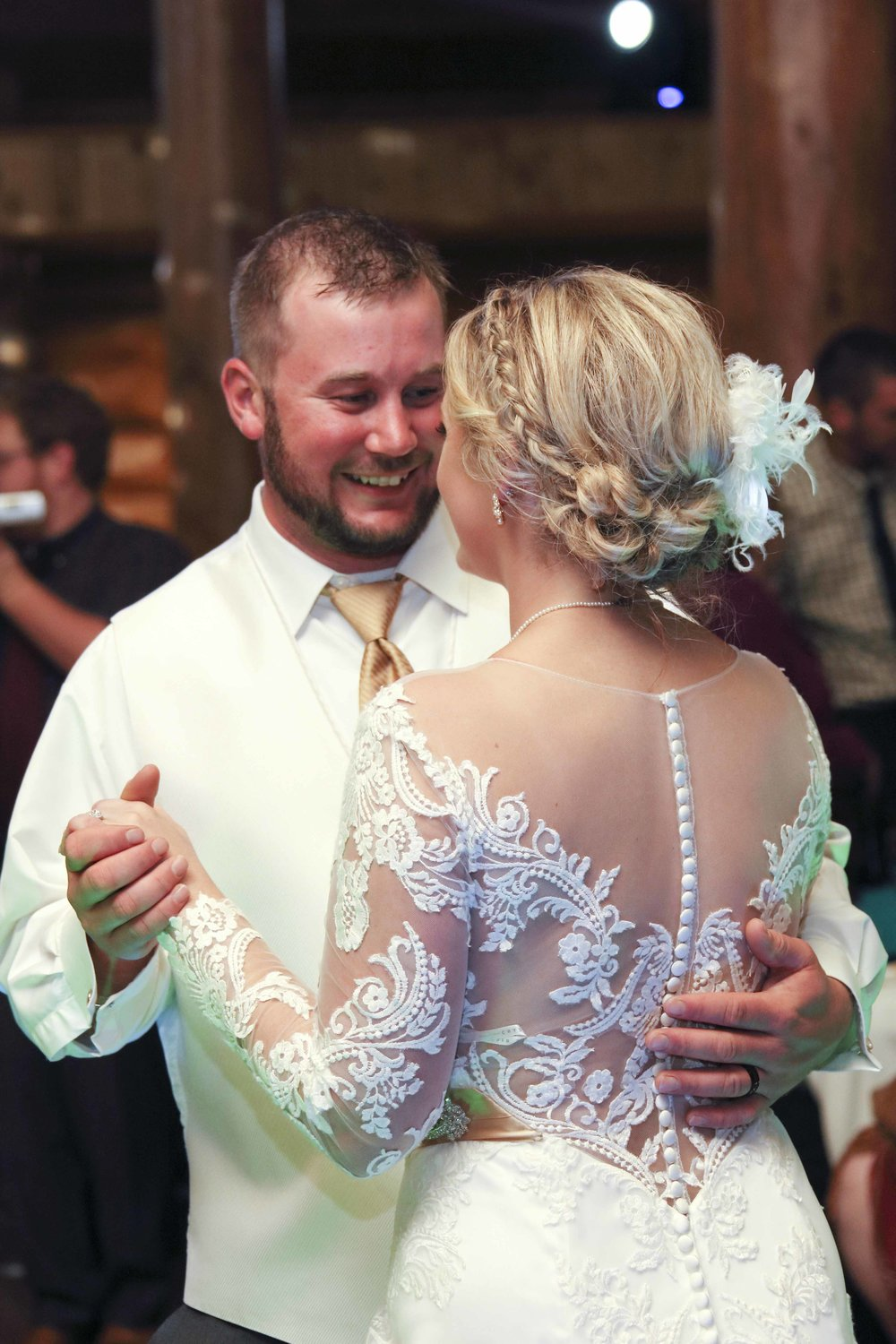 Brant Hemingway, first dance at Fab Weddings