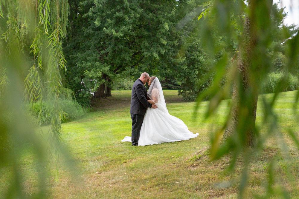 Cindyrella's Garden, Fab Weddings, outdoor Minnesota ceremony, Rosemount wedding, south metro, photo through the branches
