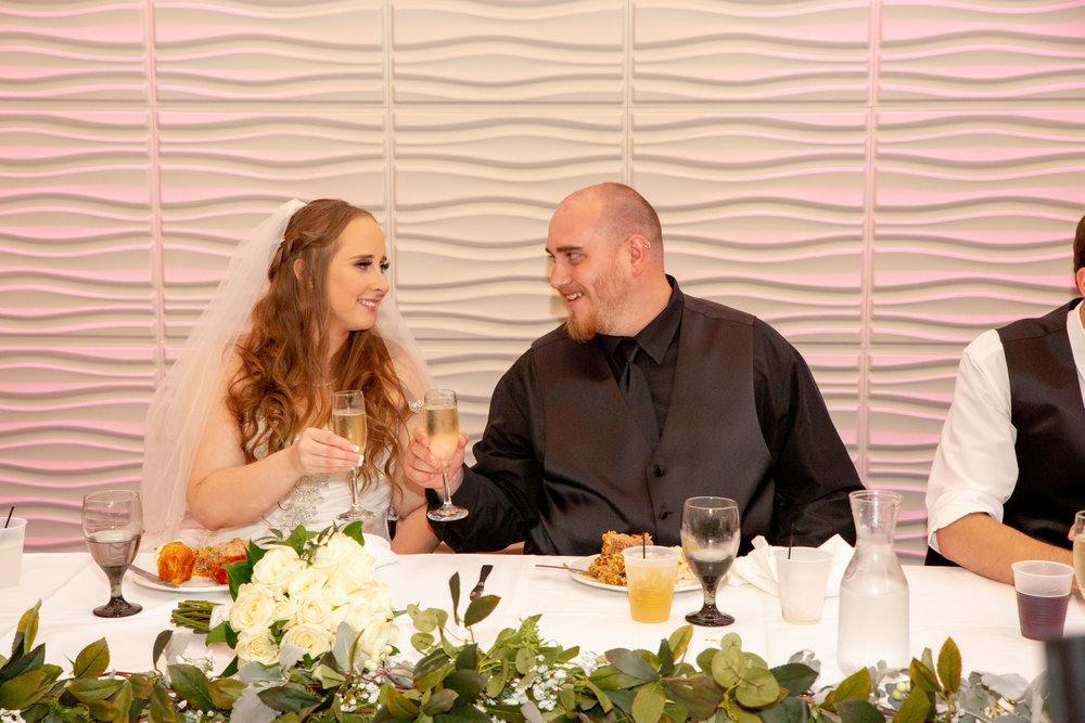 Rosehenge Hall, Fab Weddings, Minnesota reception venue, Lakeville wedding, south metro, head table