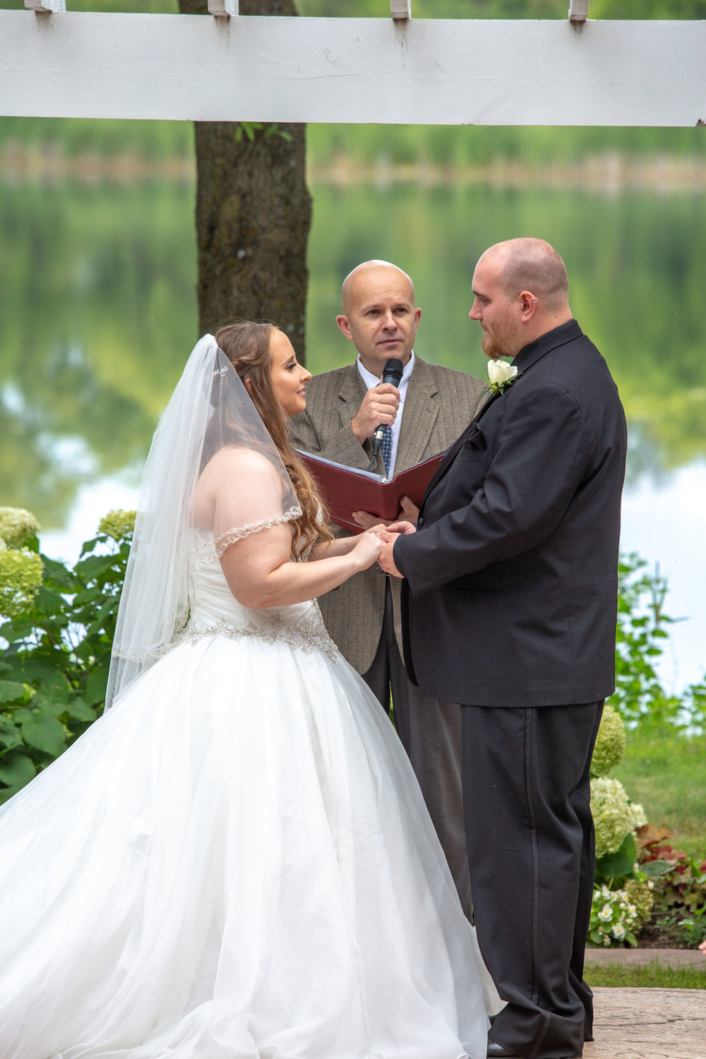 Cindyrella's Garden, Fab Weddings, outdoor Minnesota ceremony, Rosemount wedding, south metro, officiant included