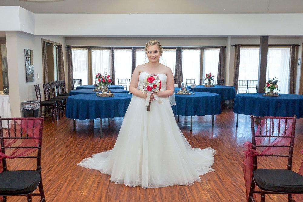 Rosehenge wedding, Lakeville wedding venue, affordable wedding venue in south Minnesota, bridal portrait
