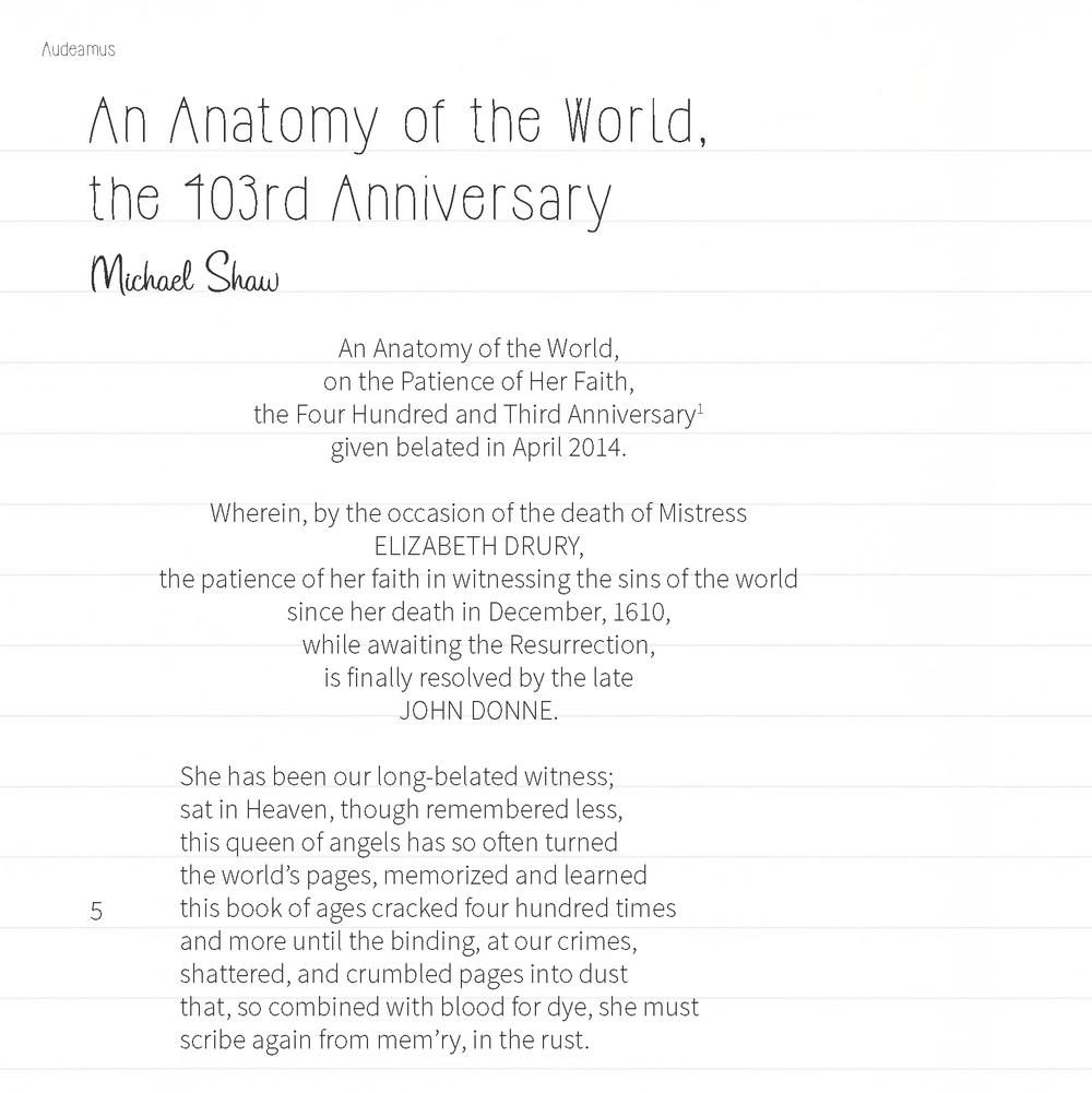 Published in the  UC Riverside Multidisciplinary Journal, Audeamus  -  2014-2015 Volume 9