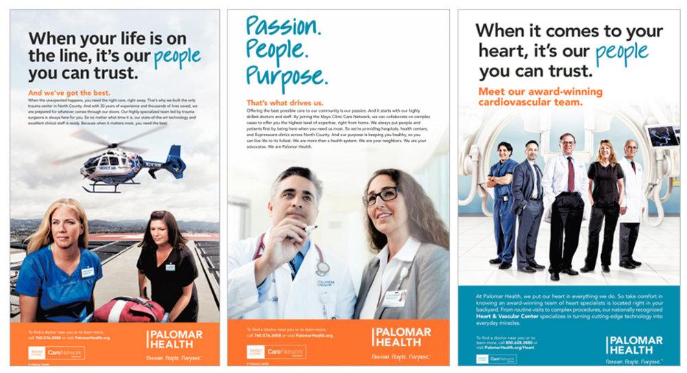 Palomar Health Advertising Campaign