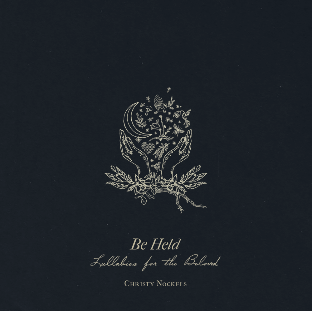 Custom illustrations for Christy Nockels' album  Be Held: Lullabies for the Beloved .