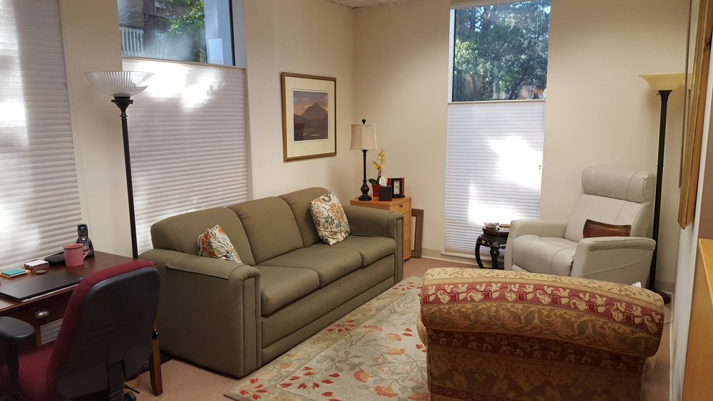 Lots of natural light - very comfortable office