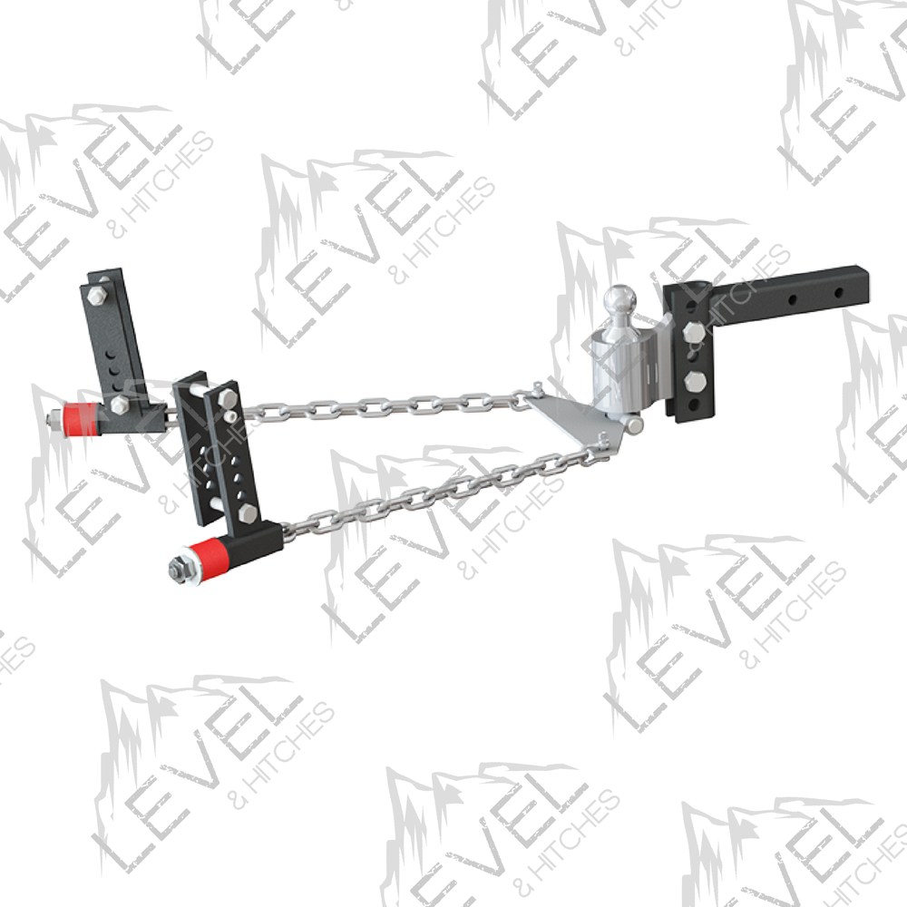 4in+Drop+WD no sway' weight distribution hitch level and hitches quality