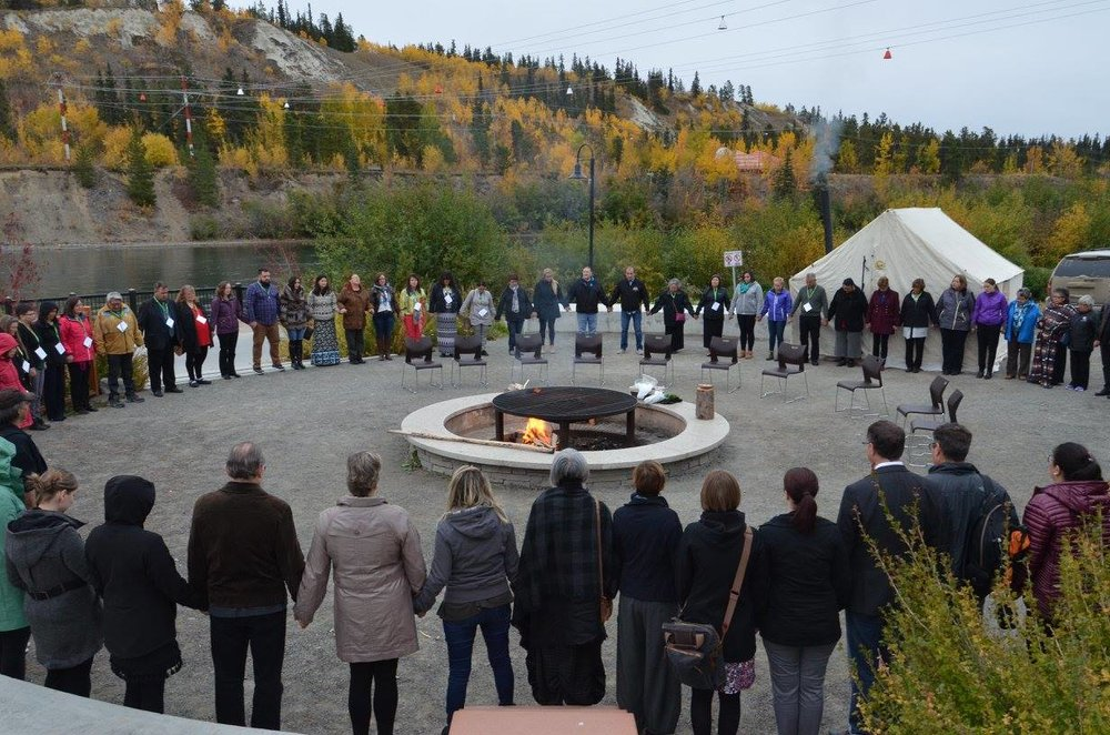 (Dr Gary Groot participates in the Canadian Institutes for Health Research (CIHR) annual Pathways Gathering in Whitehorse, Yukon in September 2017. Photo credit: CIHR)
