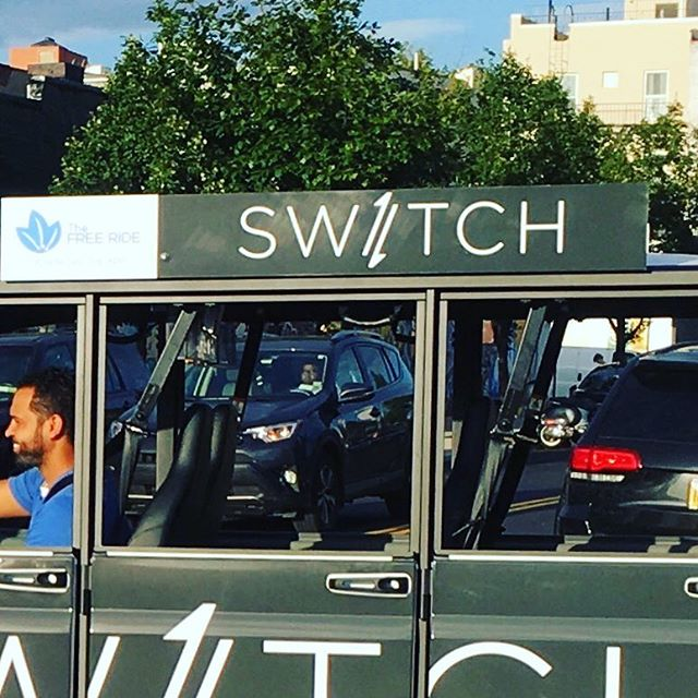 Keep an eye out for SW/TCH e-carts on the streets of Williamsburg and Greenpoint
