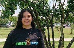"""Let's observe and learn from nature, it is the only one that can solve complex problems under pressure"" -Kathia Álvarez GREENfluidcs Co-founder"