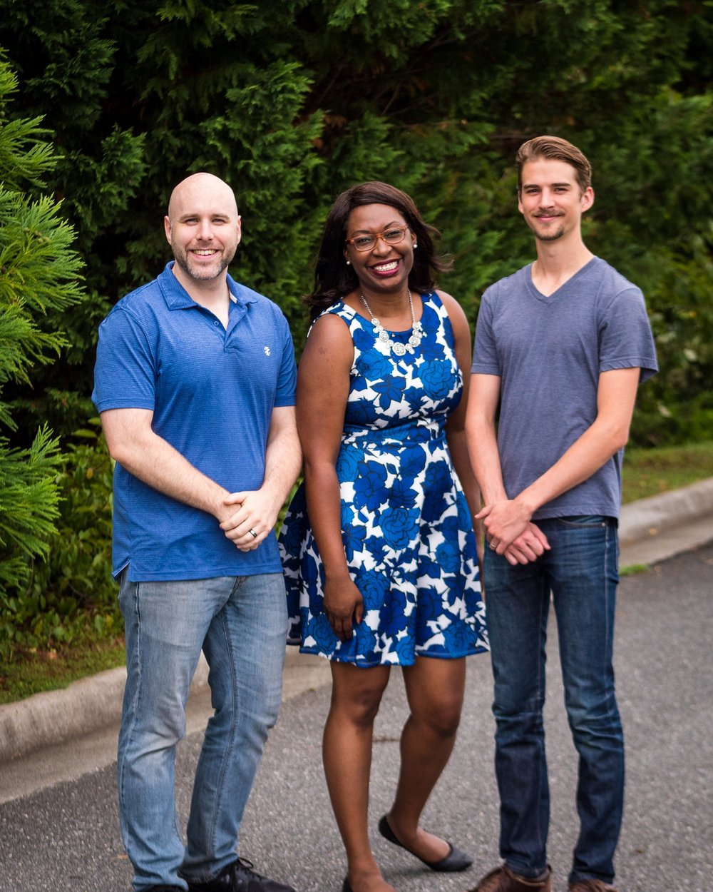 From Left to Right: Joshua Delivuk, LaShonda Delivuk & Thomas Fisher