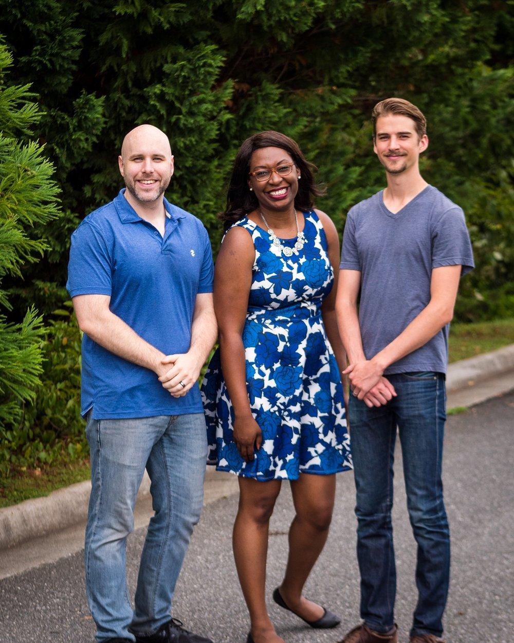 From Left to Right: Joshua Delivuk, LaShonda Delivuk & Thomas Fisher
