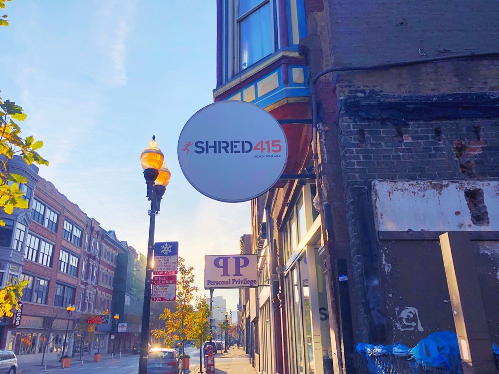 Shred415 studio in Wicker Park Chicago.